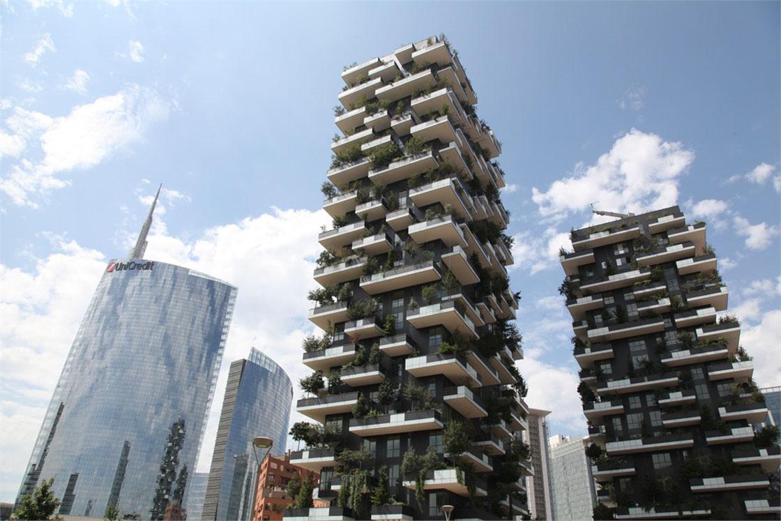 Foto Bosco Verticale Milano bosco verticale - lea ceramiche